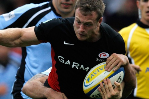 Saracens up to second with another win