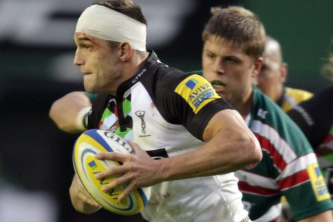 Harlequins hoist colours as Welford Road falls again