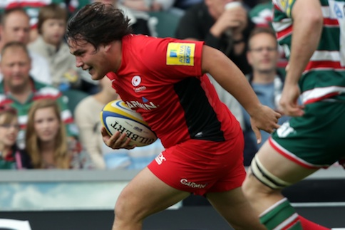Six-try Saracens silence Welford Road