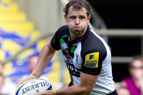 On-song Evans has perfect tune for Quins