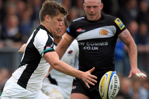 Saracens cruise to Sandy Park win