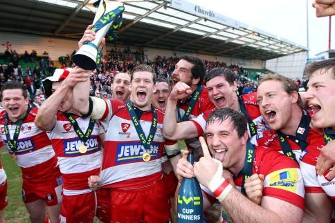 Gloucester storm to silverware triumph