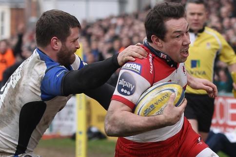 Gloucester get a bonus-point derby double