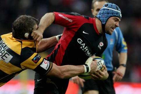 Saull try sends Saracens to another Wembley win