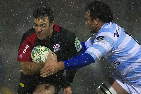 Saracens salvage pride in Paris snow