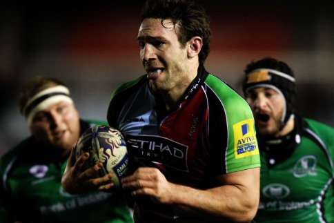 Quins cruise to win over Connacht