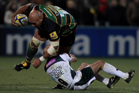 Saints stay top of the Aviva Premiership Rugby table