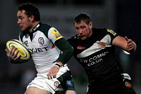 Exiles beat Exeter to remain top