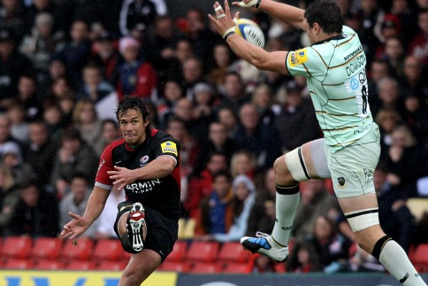 Saints suffer at hands of Hougaard