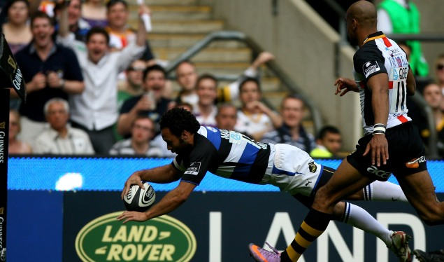 Bath spoil Wasps' HQ party