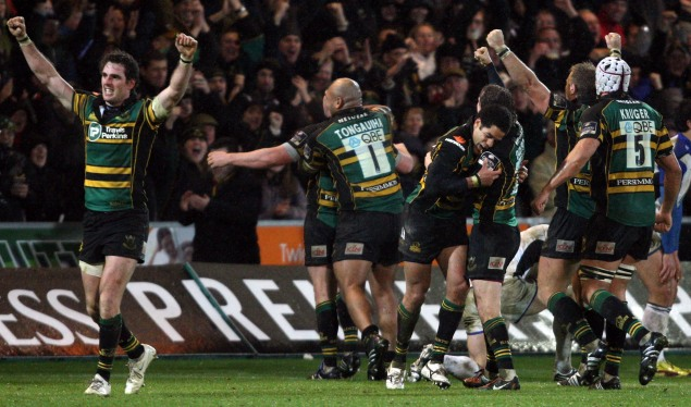 Last-minute action from Saints steals victory from Bath