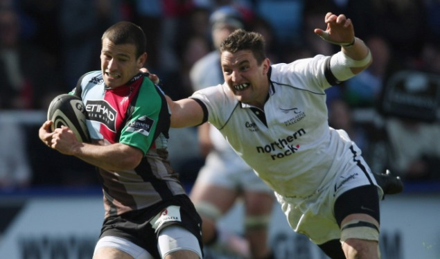 Four try fly-in lands Harlequins home draw