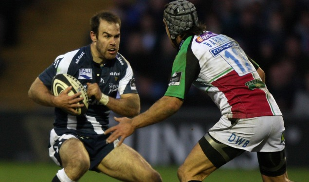 Sale down Quins' colours