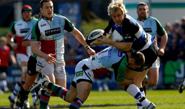 Bath battered by Harlequins