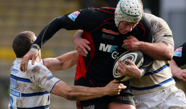 Barrell snatches points for Saracens