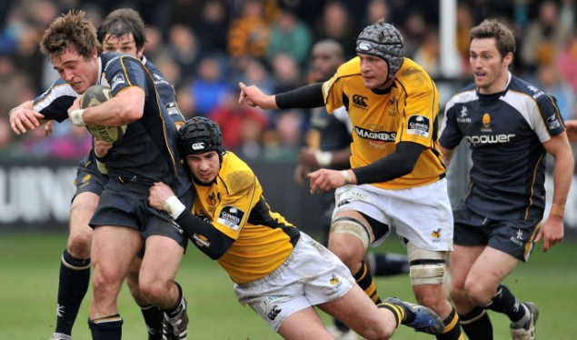 Wasps pipped to the post by Worcester