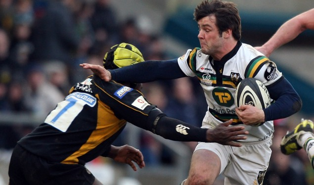 Northampton nipped to win by Wasps