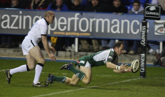 Irish rise to the top after beatin Newcastle