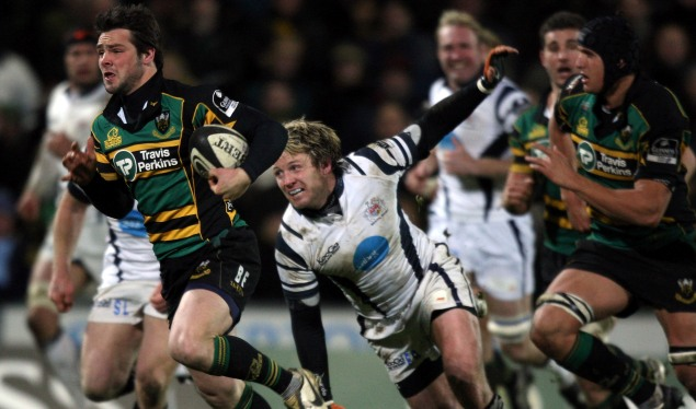 Saints strike to beat Bristol