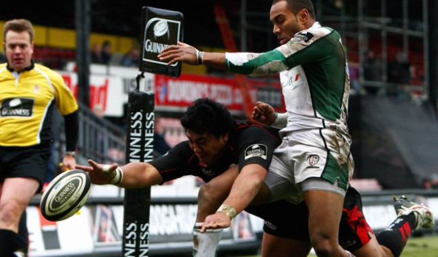 Saracens steal the show from headliners London Irish