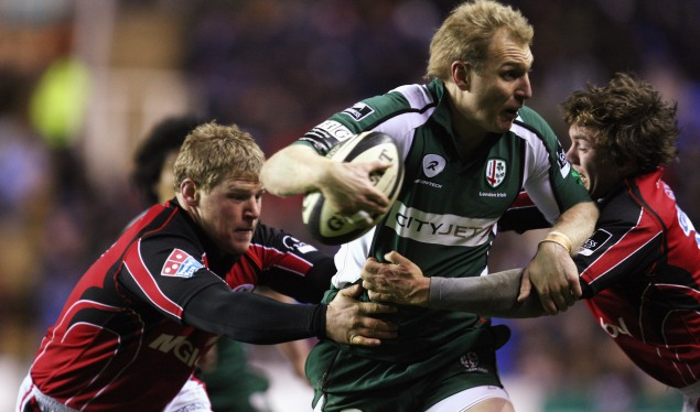 London Irish Homer in on a win against Saracens