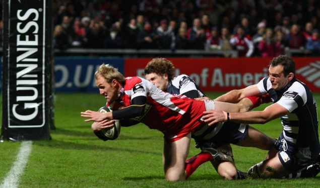 Five-try Gloucester swamp Bristol