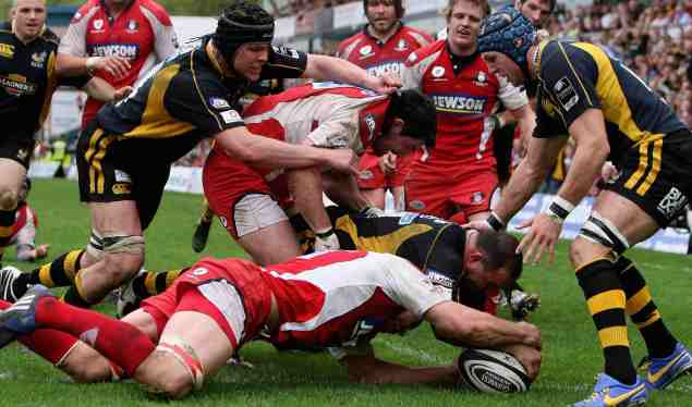 Gloucester seal play-off berth at Adams Park