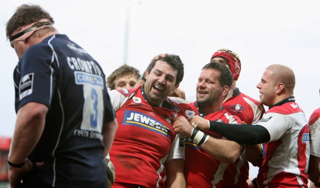 Gloucester clinical in their victory
