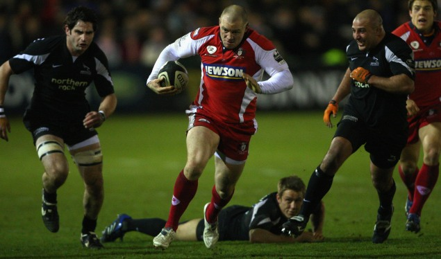 Gloucester go top at chilly Kingston Park