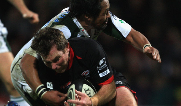 Saracens secure second-half victory