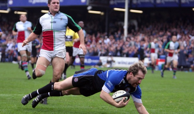 Bath climb closer to the top spot with win against Harlequins