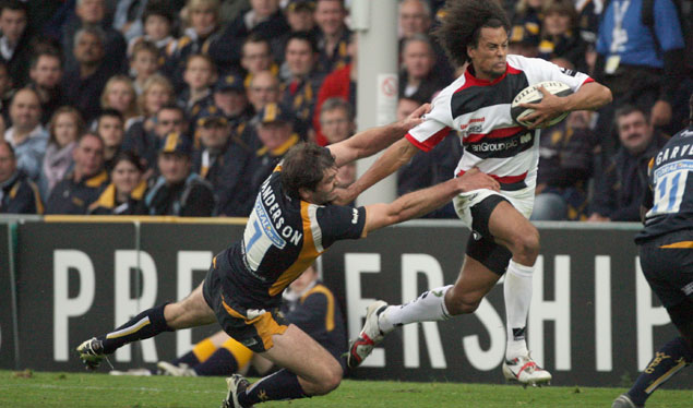 Late Haughton try secures Sarries win at Worcester