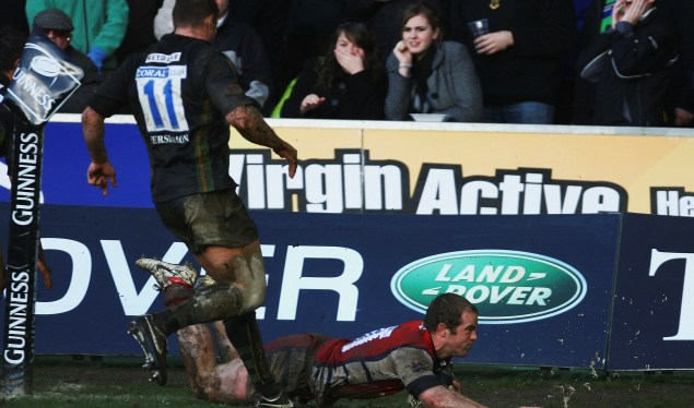 Gloucester get out of jail at Franklin's Gardens