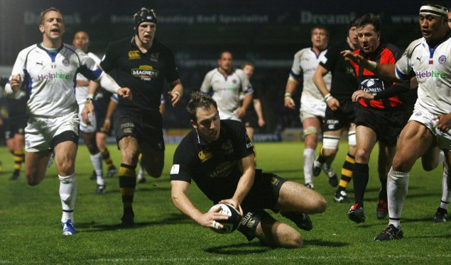 Baxter brace fires Wasps to win