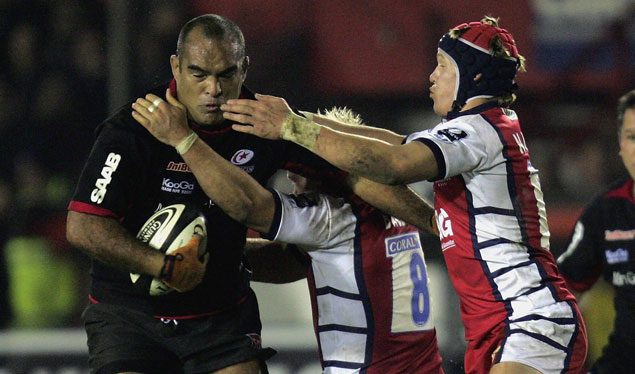 Gloucester go top with win over Saracens