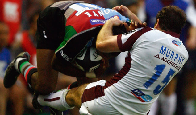 Leicester edge out brave Quins