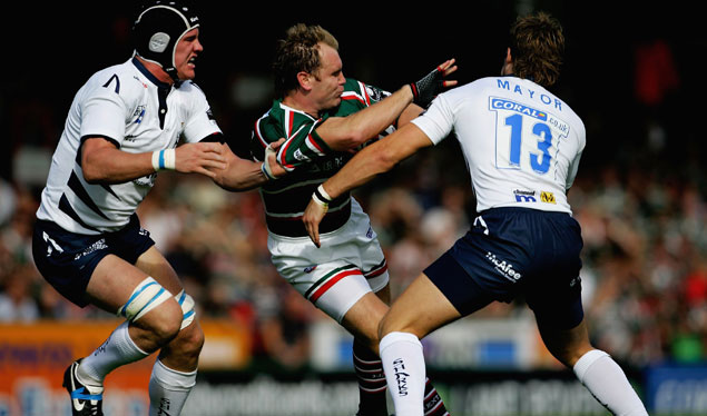 Champions defeated by Leicester Tigers