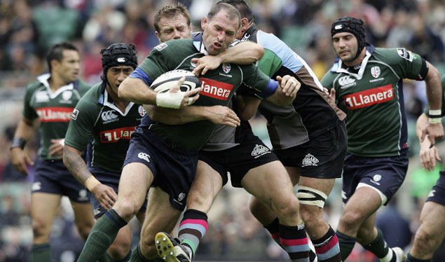 Quins pipped by Exiles on GUINNESS PREMIERSHIP return