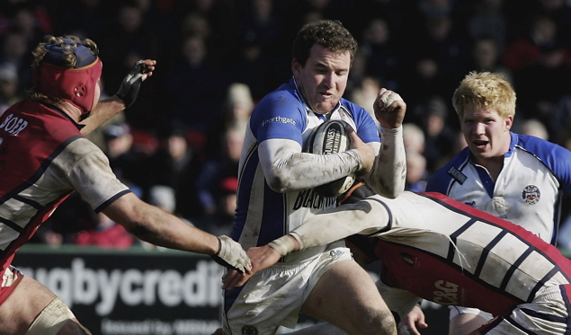 Bath hang on for crucial derby win