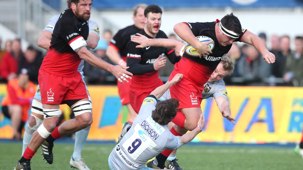 Jamie George wants Saracens to chase 'double double'