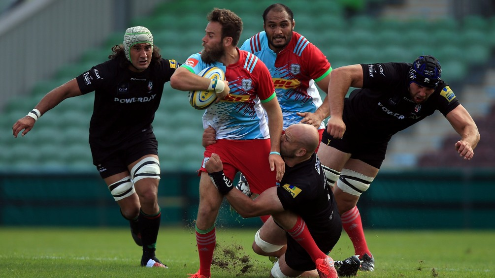 Ruaridh Jackson turning over new London Double Header leaf with Harlequins