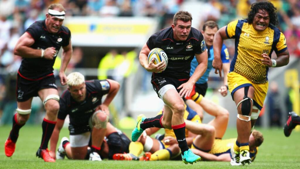 Ben Spencer shone with a late try for Saracens at Twickenham