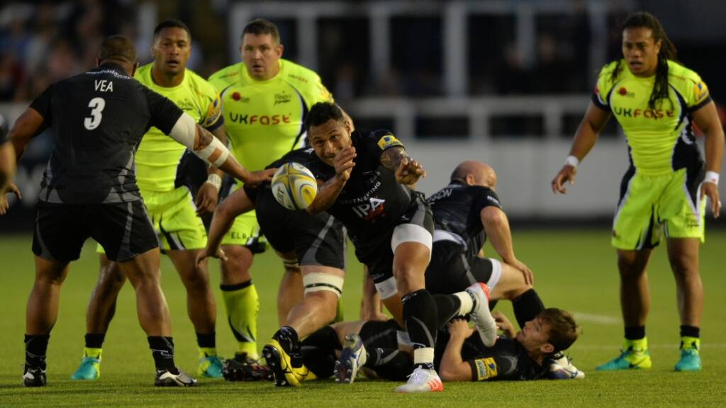 Takulua has high hopes for Newcastle Falcons