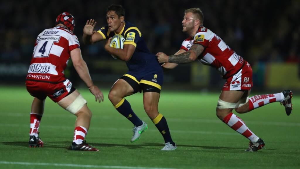 Jackson Willison on his home Aviva Premiership Rugby debut