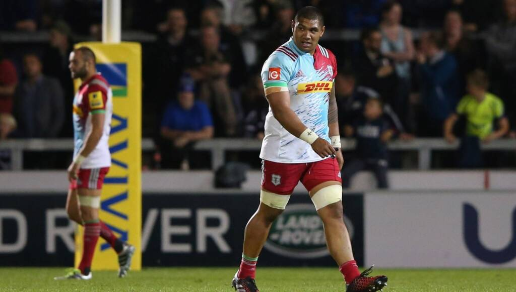Harlequins' Mathew Luamanu cited for dangerous tackle against Exeter Chiefs