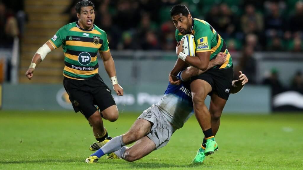 Ahsee Tuala has started Northampton Saints' first two Aviva Premiership Rugby games this season