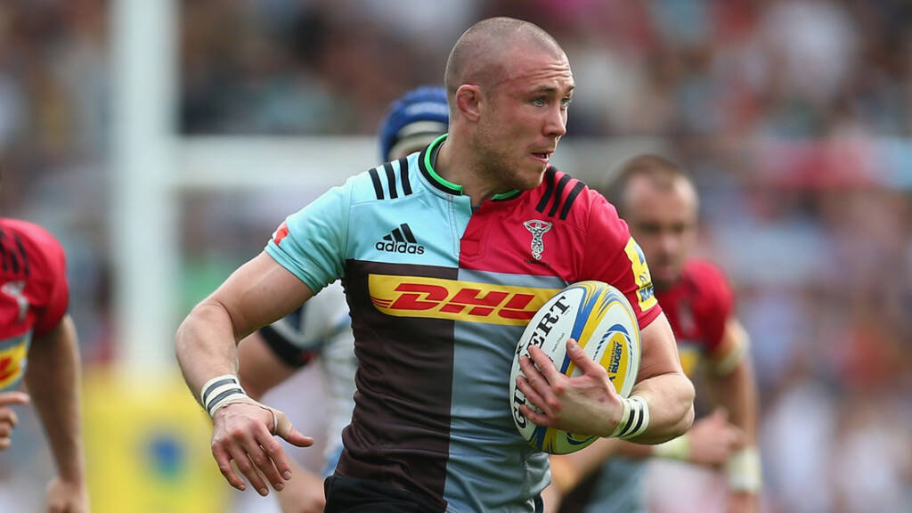 Harlequins team to play Exeter Chiefs