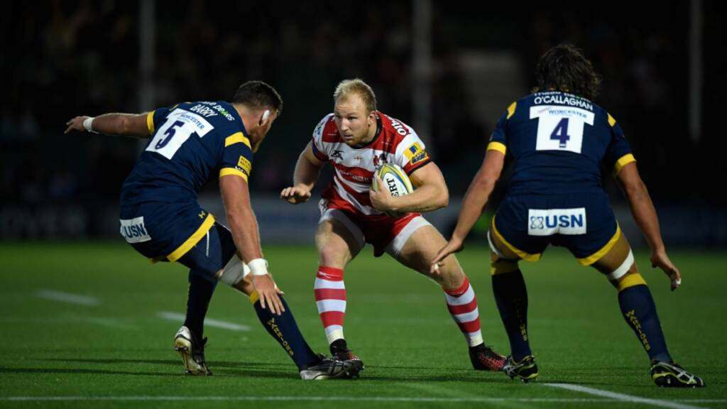 Worcester Warriors' Darren Barry