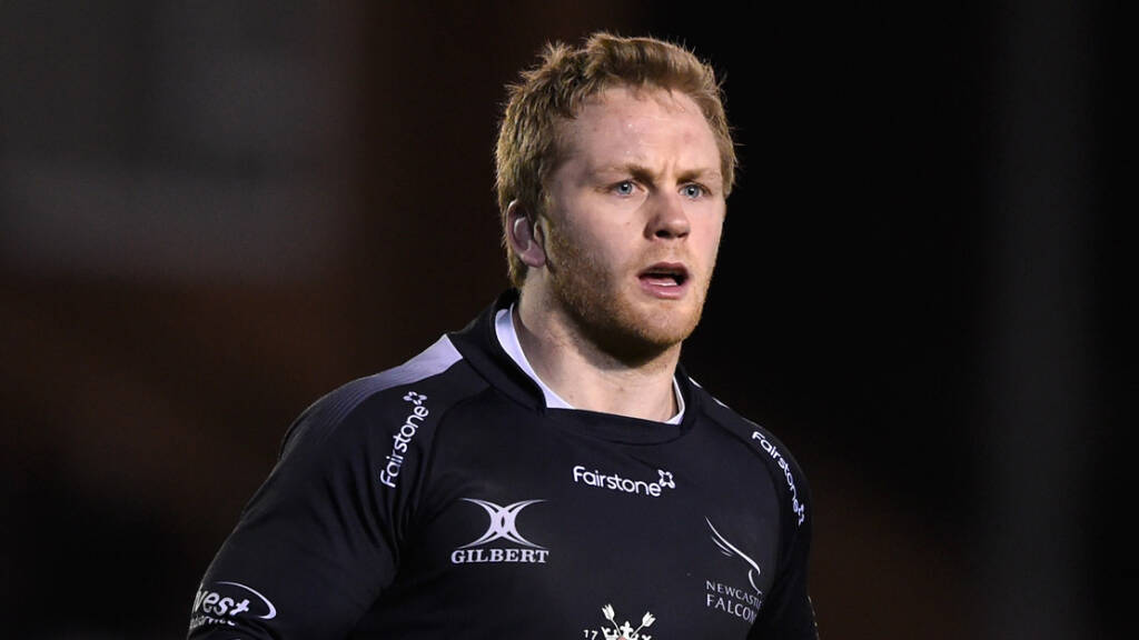 Newcastle Falcons team to face Gloucester