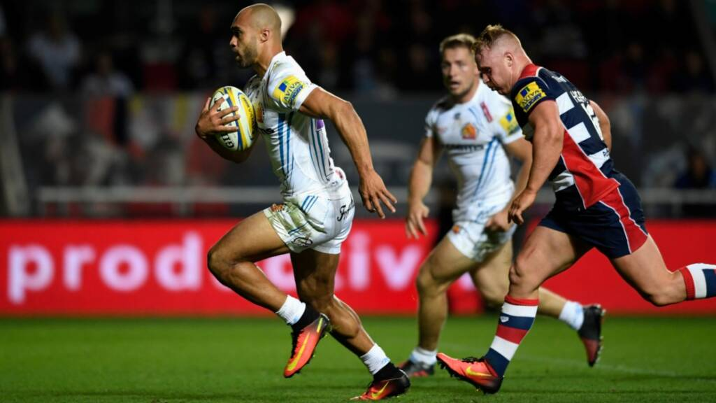 Match report: Bristol Rugby 17 Exeter Chiefs 41